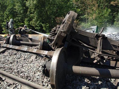 Из-за аварии на Украине поезда в Россию направляют по резервной схеме.  Многие составы идут с большим опозданием.
