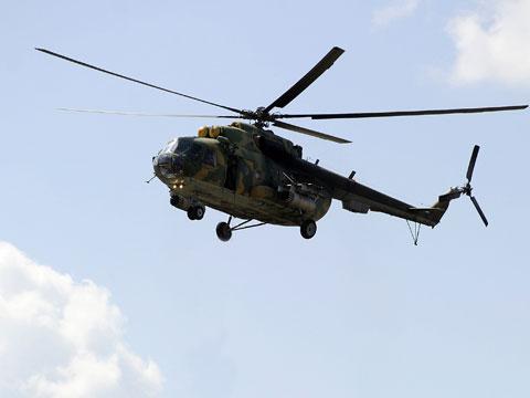 В Ханкале разбился военный МИ-8, трое погибших