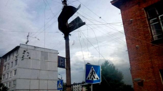На юг Тульской области обрушился микросмерч, сообщили синоптики