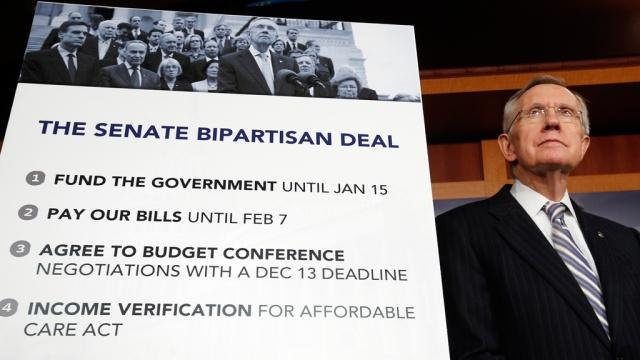 Сенат США поддержал законопроект о повышении госдолга
