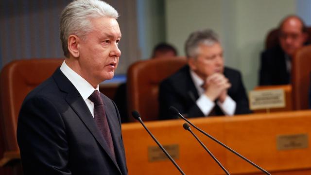 Собянин обновил контракты с главами московских управ