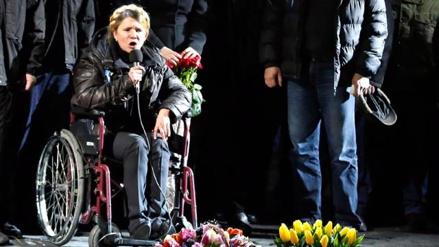 Обувь Тимошенко На Майдане