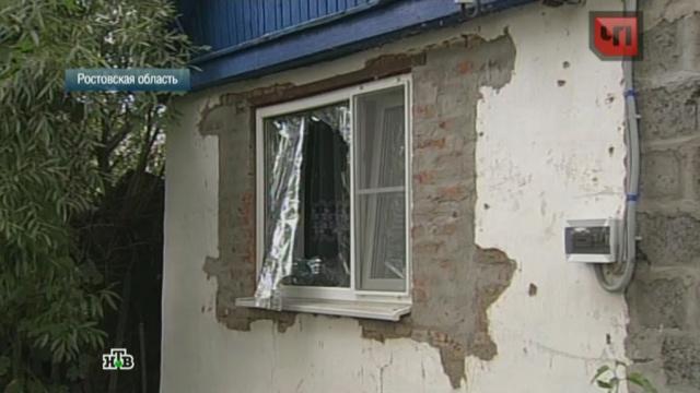 Украинские снаряды разнесли дома на ростовском хуторе