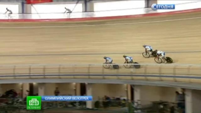 Петербурженка взяла серебро на велотреке