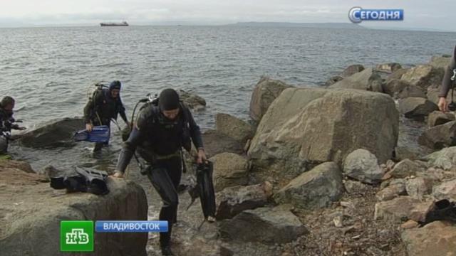 У берегов Владивостока нашли затонувший американский буксир со звездой Давида