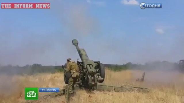 Украинские силовики атаковали Донецк, Золоторёвку и Енакиево