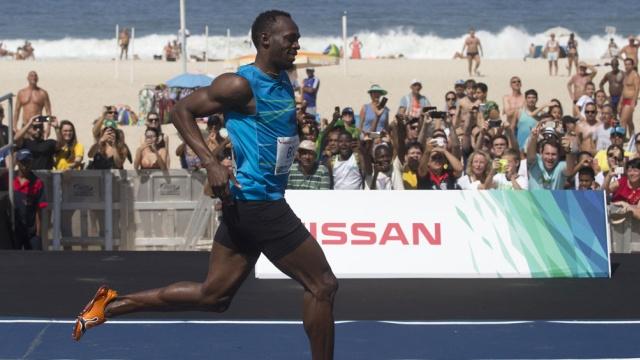 Человек-молния Усэйн Болт установил новый мировой рекорд