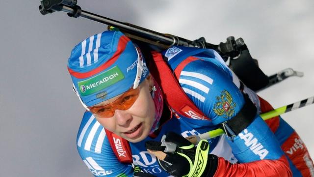 Российская биатлонистка во время гонки получила солнечный удар