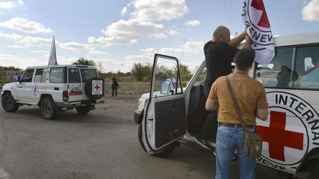 Красный Крест может принять участие в распределении российской помощи в Луганске