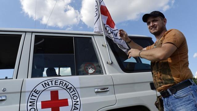 Красный Крест собирается увеличить помощь Луганску