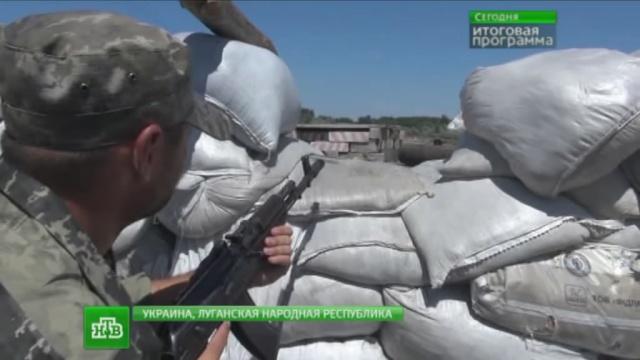 Ополченцы поймали диверсанта с оружием и спасли Краснодон от минометного обстрела