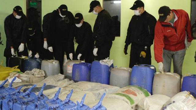 В парагвайском порту задержали гигантскую партию наркотиков