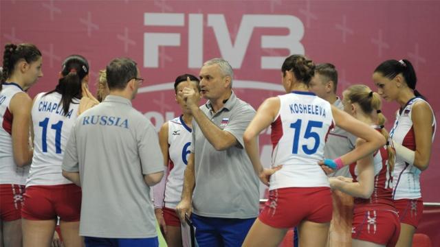 Российские волейболистки лишились шансов на выигрыш Гран-при