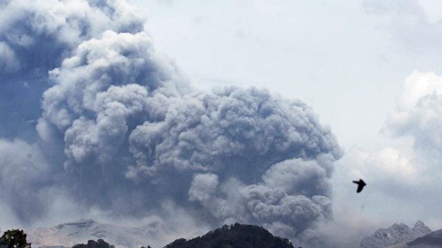 Исландский вулкан Бардарбунга угрожает авиаперелетам