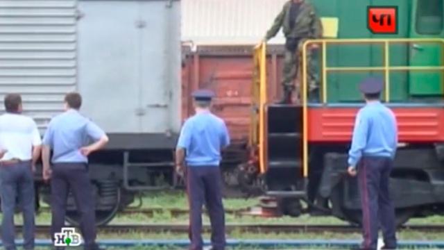 Взрыв на железной дороге под Харьковом парализовал движение поездов