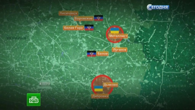 Каратели окружены: ополченцы сделали ставку на ударные бригады