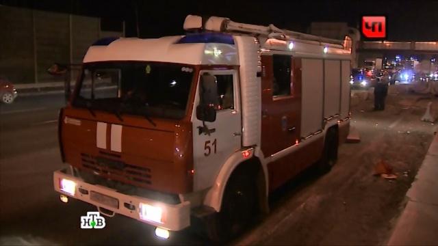 В Татарстане столкнулись три фуры, есть жерты