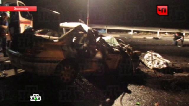 Страшное ДТП в Белгороде закончилось смертью семи человек: видео с места аварии