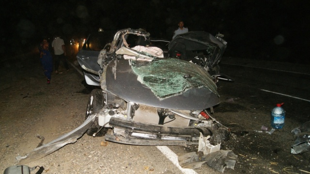 Москвич устроил ДТП в Калмыкии, погиб полицейский и еще четыре человека