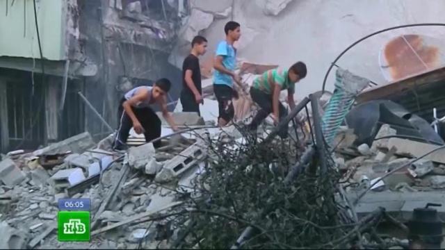 Израильские военные разбомбили жилую высотку в секторе Газа
