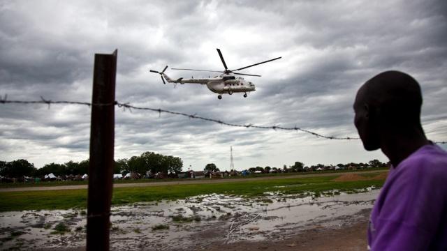 В Южном Судане сбит вертолет российской авиакомпании