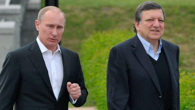 Путин и Баррозу обсудили итоги встречи в Минске