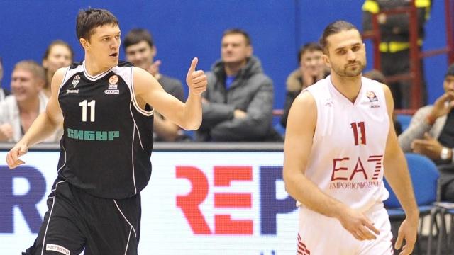 Нижний Новгород разгромил баскетболистов Милана в матче Евролиги