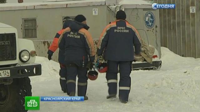 В Красноярском крае утонул джип с рыбаками