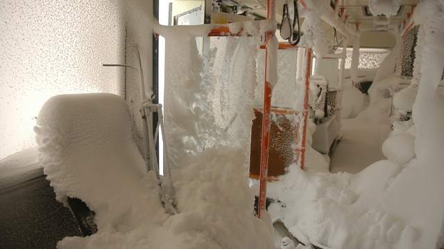 Аномальные холода остановили автобусное движение на Алтае
