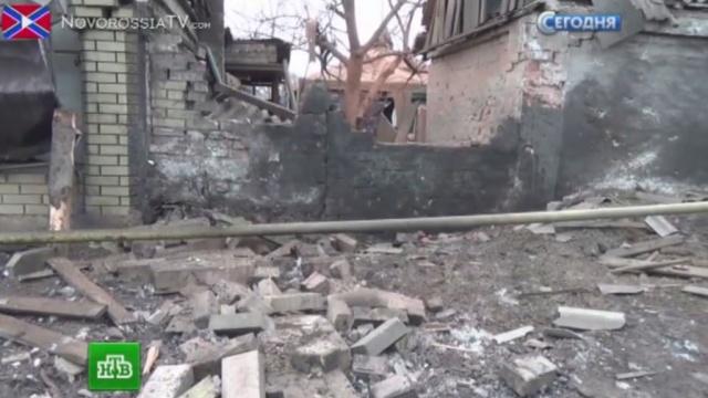Украинские силовики обстреляли