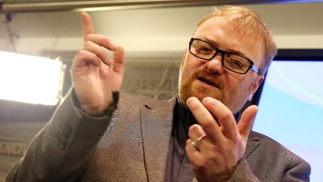 Милонов рассказал о шипящих и плачущих 8 марта геях