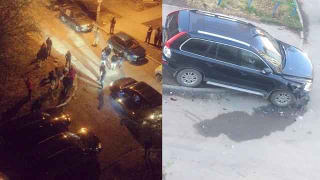 Пьяный полицейский разбил 8 автомобилей в Екатеринбурге: видео