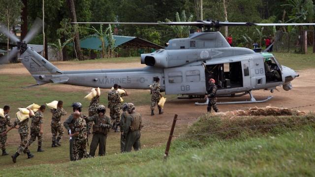 Власти США официально подтвердили гибель своих морских пехотинцев в Непале