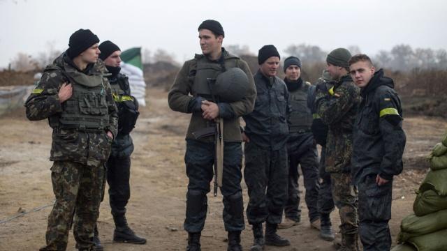Нацгвардия оцепила украинский полигон с бунтующими призывниками
