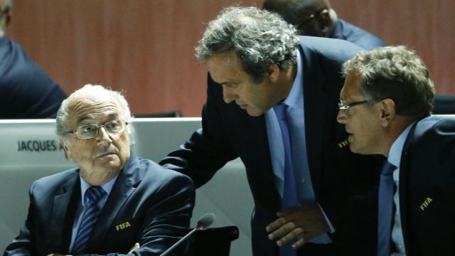 В Цюрихе начались выборы президента ФИФА