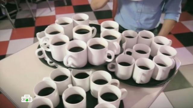 """Программа  """" Чудо техники  """" представляет пять интересных научных фактов о кофе."""