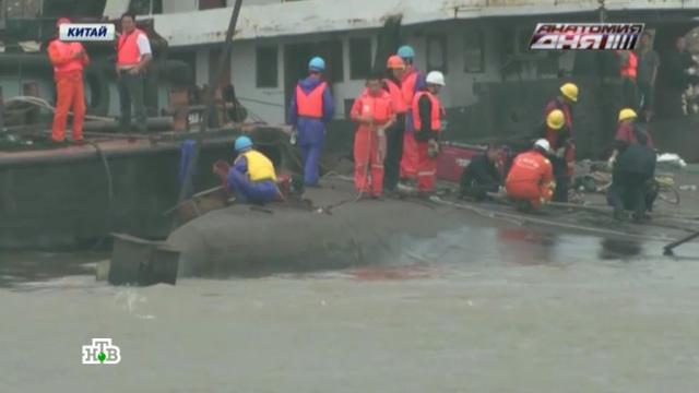 затонувшую звезду востока поднимают янцзы китайские спасатели