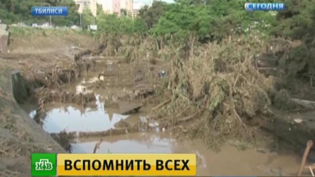 В страшном тбилисском наводнении винят Саакашвили