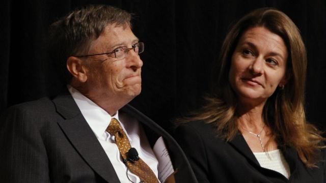 билл гейтс жена мелинда названы самой богатой парой