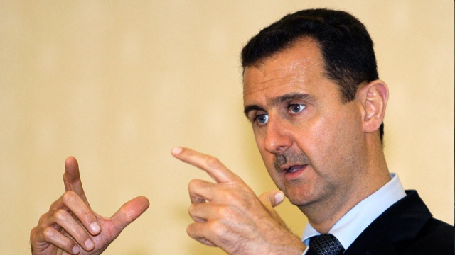 Assad thanked Putin for assistance in combating terrorism