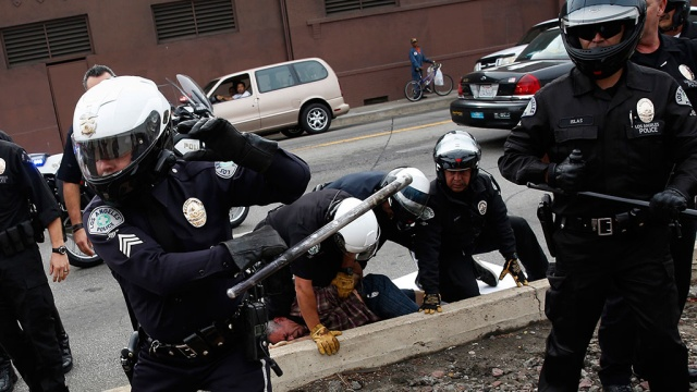 Police arrested more than 400 demonstrators at the U.S. Congress