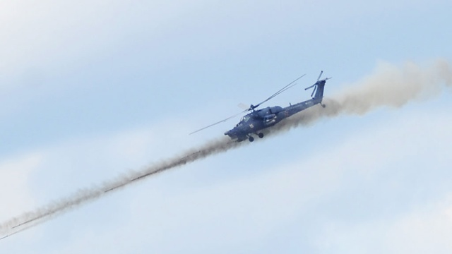 La commission a appelé la cause de l'accident russe Mi-28Н en Syrie