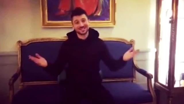 сергей лазарев записал видеообращение евровидения
