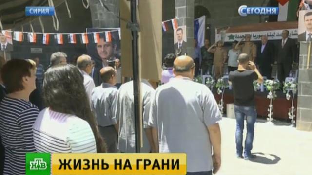 христианский поселок сирии получил гуманитарную помощь россии