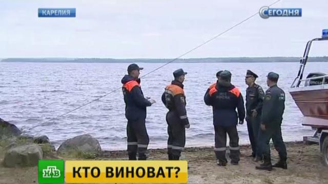 Спасатели в поисках пропавшего ребенка обследуют каждый сантиметр Сямозера