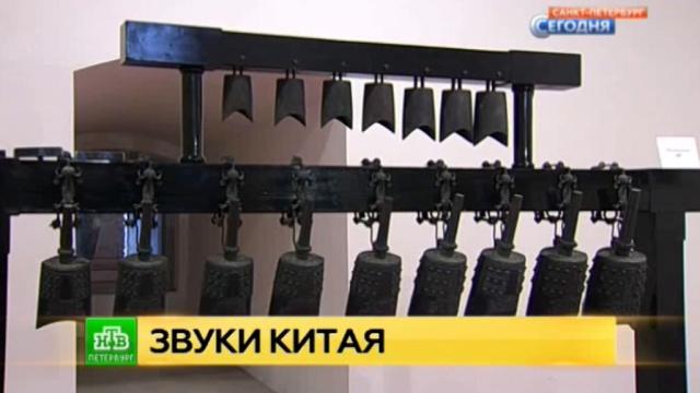 В Петербург привезли древние колокола из Поднебесной