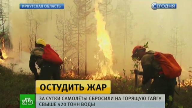 МЧС: площадь лесных пожаров в Сибири сократилась за сутки более чем на 3 тысячи гектаров