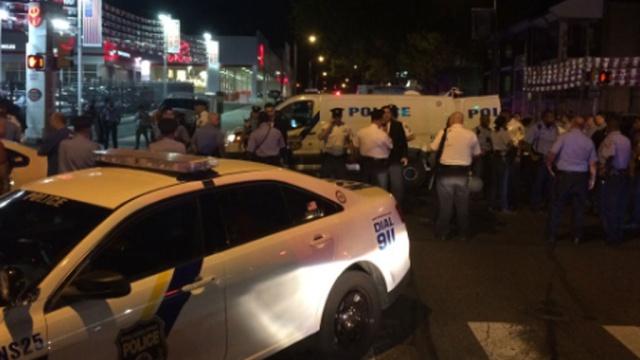 Полицейских расстреляли рядом с университетом в Филадельфии