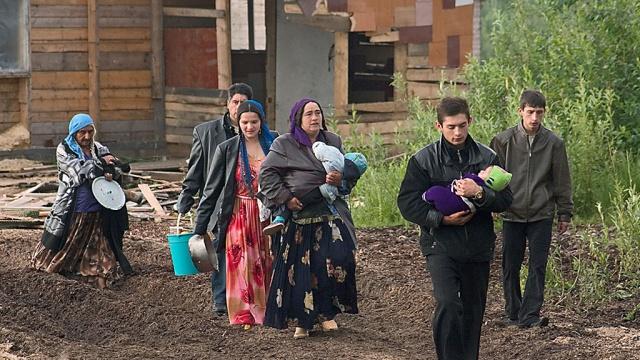 окрестностях имения толстого тулой собираются снести цыганский поселок