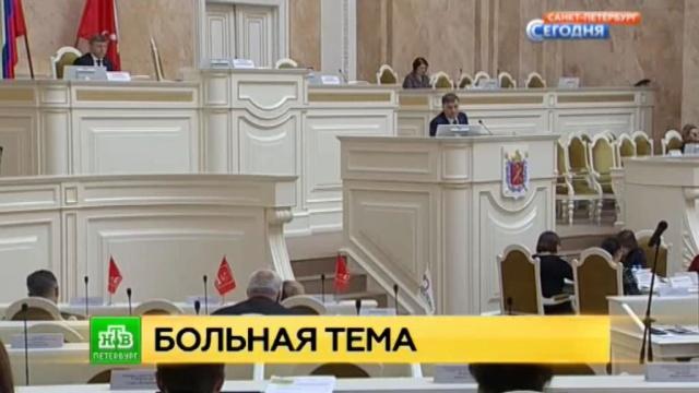 Петербургские депутаты взялись за собственную нравственность